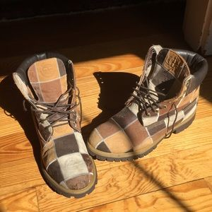 Timberland Rare Patchwork Boots